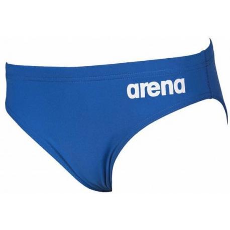 Chlapčenské plavecké plavky ARENA-B SOLID BRIEF JR Royal white