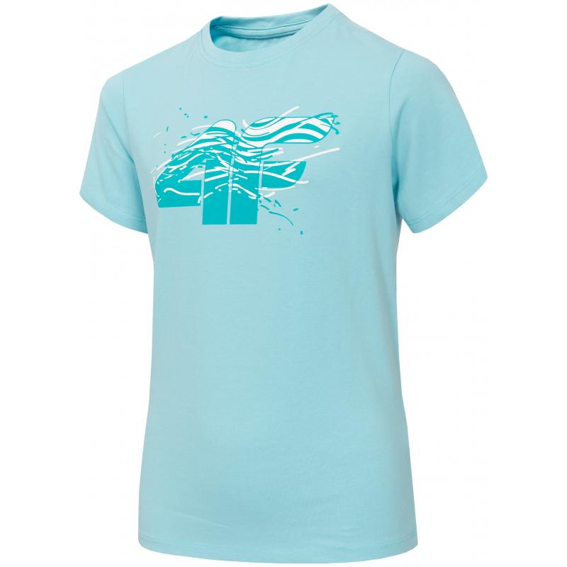 Chlapecké tričko s krátkým rukávem 4F-BOYS T-SHIRT-HJL20-JTSM015-34S -