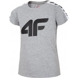 Dívčí tričko s krátkým rukávem 4F-GIRLS T-SHIRT-HJL20-JTSD004A-25M
