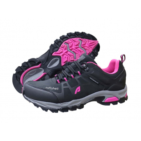 Dámska turistická obuv nízka LANCAST-Aparso Merona II black/pink