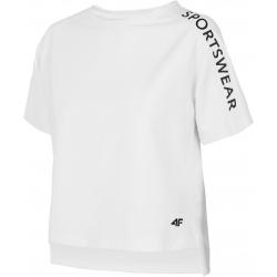 Dámske tréningové tričko s krátkym rukávom 4F-WOMENS T-SHIRT-H4L20-TSD015-10S