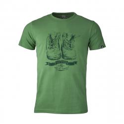 Pánske turistické tričko s krátkym rukávom NORTHFINDER-KRISTJANO-green