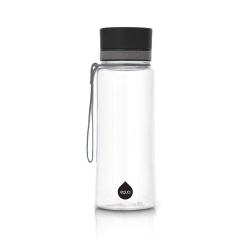 Fľaša EQUA-Plain Black, 600 ml