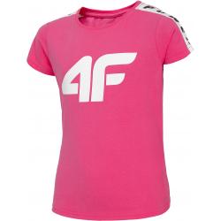 Dívčí tričko s krátkým rukávem 4F-GIRLS T-SHIRT-HJL20-JTSD004B-55S