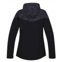 Dámska turistická softshellová bunda HANNAH-FRIDA LITE-anthracite -
