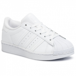 Detská vychádzková obuv ADIDAS ORIGINALS-Superstar C ftwwht/ftwwht/ftwwht