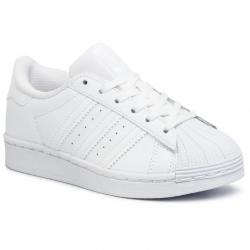 Dětská vycházková obuv ADIDAS ORIGINALS-Superstar C ftwwht / ftwwht / ftwwht