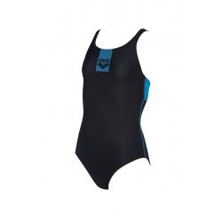 Dievčenské plavecké jednodielne plavky ARENA-G BASICS JR SWIM PRO BACK ONE PIECE