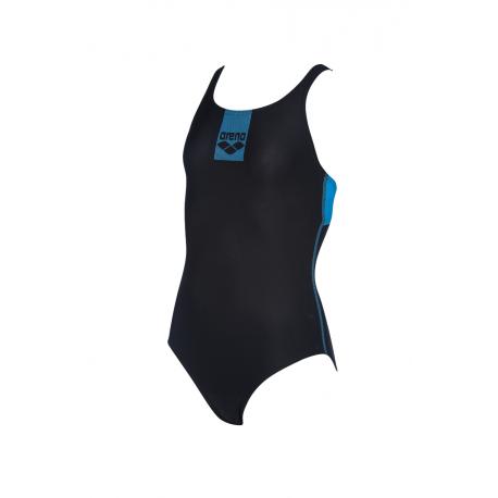 Dívčí plavecké jednodílné plavky ARENA-G BASICS JR SWIM PRO BACK ONE PIECE