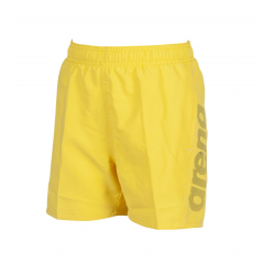 Chlapčenské plavky ARENA-FUNDAMENTALS LOGO JR BOXER Yellow