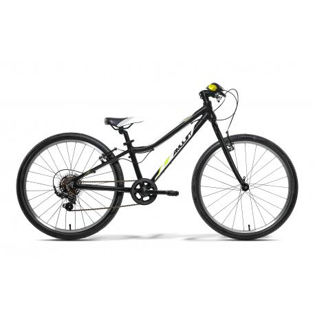 Juniorský bicykel AMULET-TOMCAT 24 ČERNÝ