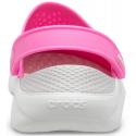 Kroksy (rekreační obuv) CROCS-LiteRide Clog electric pink / almost white -