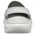Kroksy (rekreačná obuv) CROCS-LiteRide Clog smoke/pearl white -