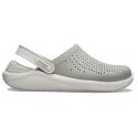 Kroksy (rekreační obuv) CROCS-LiteRide Clog smoke / pearl white -