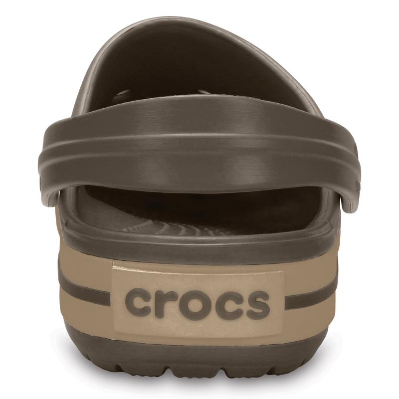 Kroksy (rekreačná obuv) CROCS-Crocband espresso/khaki -