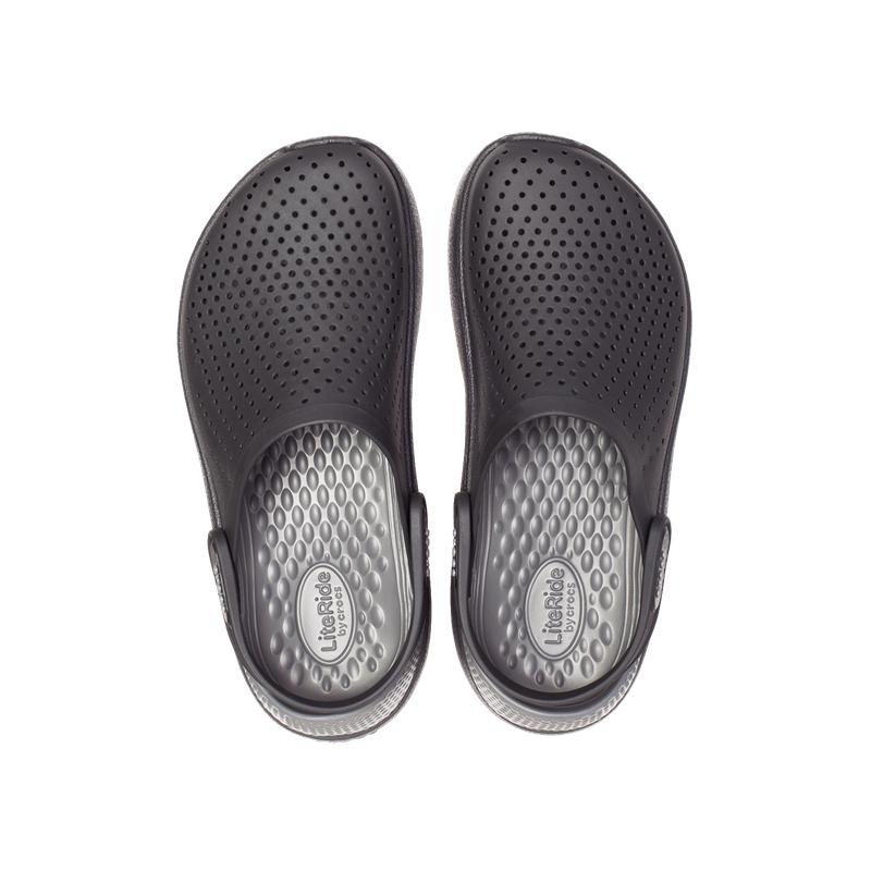 Kroksy (rekreačná obuv) CROCS-LiteRide Clog slate black/slate grey -