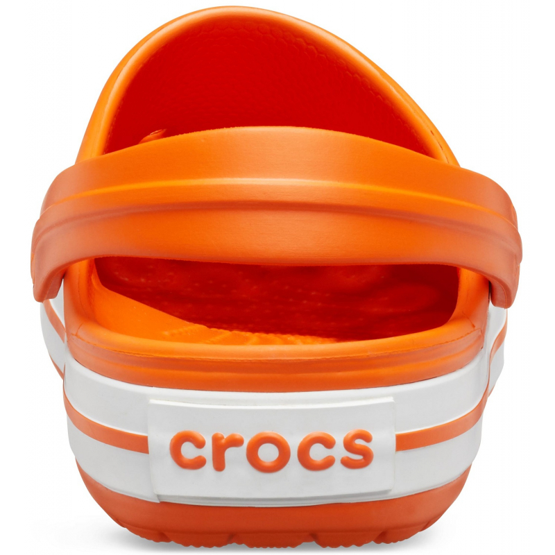 Kroksy (rekreačná obuv) CROCS-Crocband orange/white -