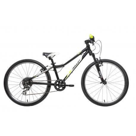Juniorský bicykel AMULET-TEAM AIR 24 Černý