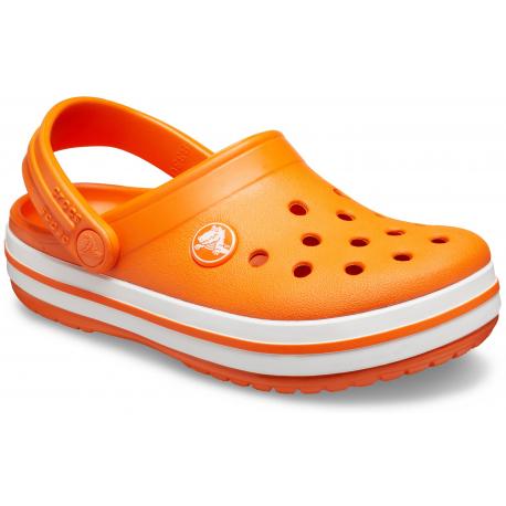 Dětské kroksy (rekreační obuv) CROCS-Crocband Clog K orange