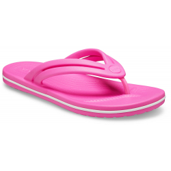 Dámske žabky (plážová obuv) CROCS-Crocband Flip W electric pink