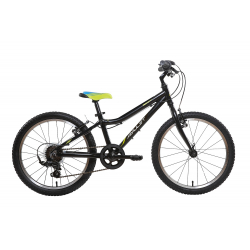 Juniorský bicykel AMULET-TOMCAT 20 ČERNÝ