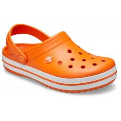Kroksy (rekreačná obuv) CROCS-Crocband orange/white (EX)