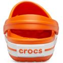 Kroksy (rekreačná obuv) CROCS-Crocband orange/white (EX) -
