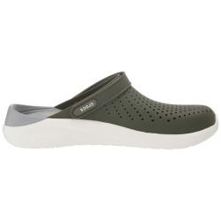 Kroksy (rekreačná obuv) CROCS-LiteRide Clog army green/white (EX)
