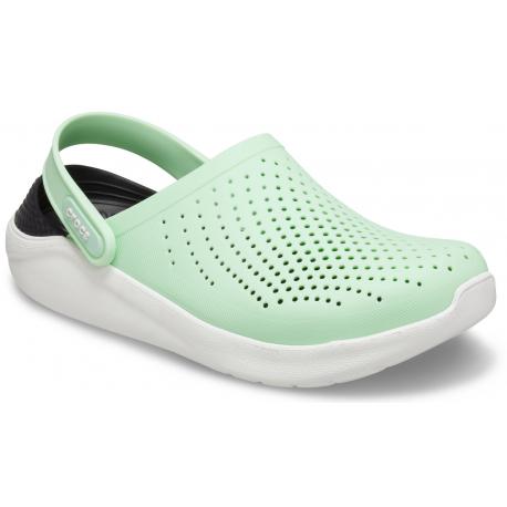 Kroksy (rekreačná obuv) CROCS-LiteRide Clog neo mint/almost white (EX)