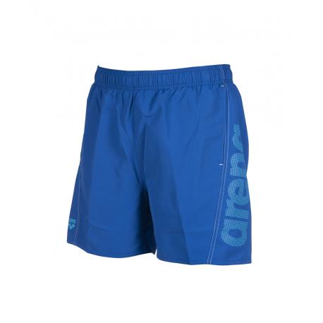 Pánske plavky ARENA-FUNDAMENTALS LOGO BOXER Blue