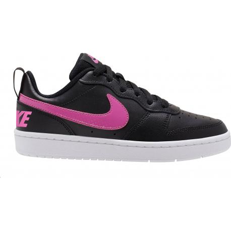 Juniorská rekreačná obuv NIKE-Court Borough Low 2 black