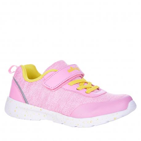 Detská rekreačná obuv AUTHORITY KIDS-Dorie pink/yellow