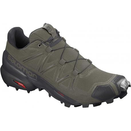 Pánska trailová obuv SALOMON-Speedcross 5 grape leaf/black/phantom