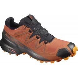 Pánska trailová obuv SALOMON-Speedcross 5 GTX burnt bric/bk/exuberanc