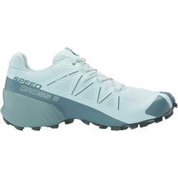 Dámska trailová obuv SALOMON-Speedcross 5 W icy morn/hydro/green