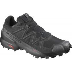 Pánska trailová obuv SALOMON-Speedcross 5 GTX black/black/phantom (EX)