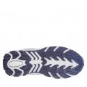 Detská turistická obuv nízka EXItrek-Nelson grey/blue -