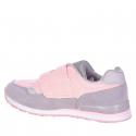 Detská rekreačná obuv AUTHORITY KIDS-Maroka pink/light grey -