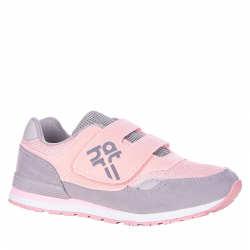 Detská rekreačná obuv AUTHORITY-Maroka pink/light grey