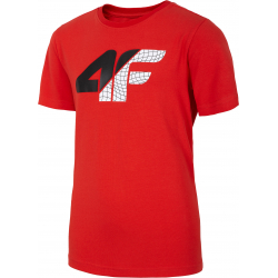 Chlapecké tričko s krátkým rukávem 4F-BOYS T-SHIRT-HJL20-JTSM022-62S