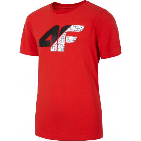 Chlapčenské tričko s krátkym rukávom 4F-BOYS T-SHIRT-HJL20-JTSM022-62S