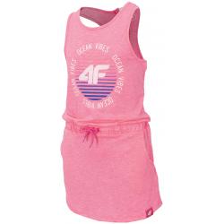 Dievčenské šaty 4F-GIRLS DRESS-HJL20-JSUDD002-54S