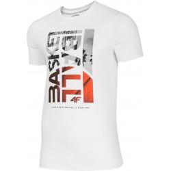 Pánske tréningové tričko s krátkym rukávom 4F-MENS T-SHIRT-H4L20-TSM031-10S