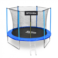 Trampolína SPOKEY-JUMPER II černo-modrá, 305 cm