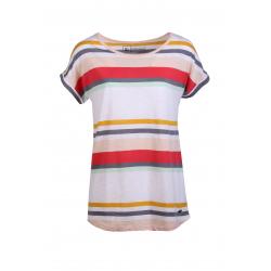 Dámské triko s krátkým rukávem FUNDANGO-Leila-274-soft terra