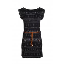 Dámské šaty FUNDANGO-Sagitta-893-raven