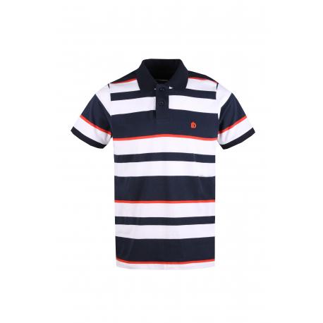 Pánske polo tričko s krátkym rukávom FUNDANGO-Helsem-485-eclipse blue