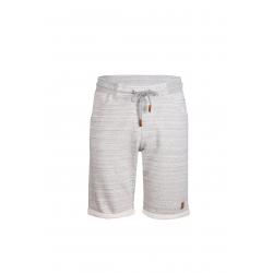 Pánske teplákové kraťasy FUNDANGO-Sunny-745-grey heather