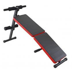 Fitness lavička LIFEFIT-Šikmá lavice sed-leh zahnutá skládací