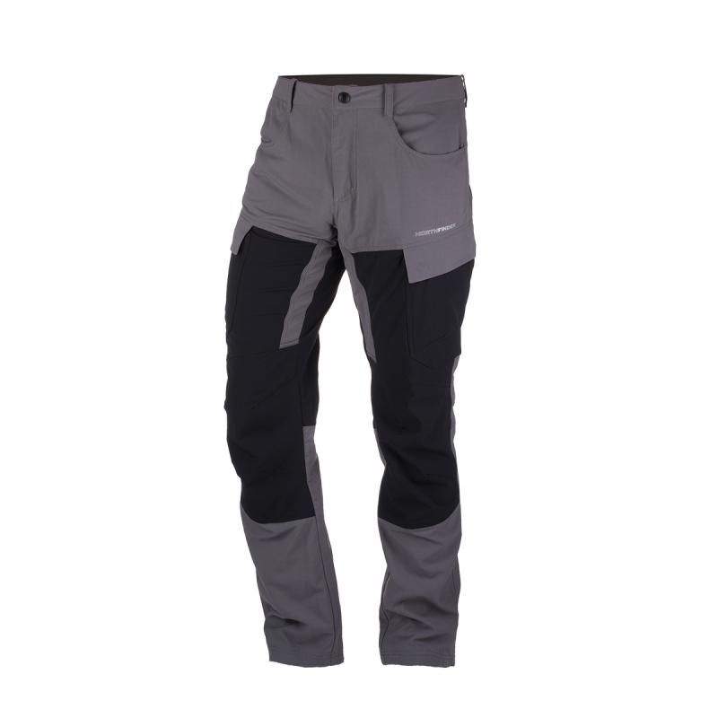 Pánské turistické kalhoty NORTHFINDER-Rohini-grey -